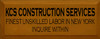 CUSTOM KCS Construction Services 7x18