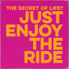 The Secret Of Life? Just Enjoy The Ride. 7x7 Wood Sign
