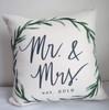 Mr. & Mrs. Est. 2019 Square Pillow