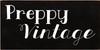 5x10 Black board with White text  Preppy Vintage