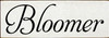 3.5x10 White board with Black text  Bloomer