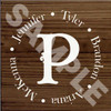 Customized Family Name Wood Painted Signs - Add Any Text Personalized For You