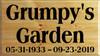 CUSTOM Wood Sign Grumpy's Garden 20x36