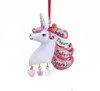 Mystical Pink Unicorn Ornament