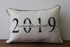 Established Year - Personalized Pillow 12 x 20
