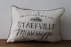 There's No Place Like City, State - Personalized Pillow 12 x 20