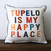 City Is My Happy Place - Personalized Square Pillow 16 x 16