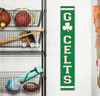 Outdoor Welcome Sign for Porch Go Celts - Vertical Porch Board 8x47 For Celtics Fans