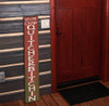 Outdoor Welcome Sign for Porch to Camp Quitcherbitchin - Vertical Porch Board 8x47