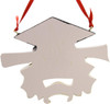 Resin Graduate Ornament 4.25in.