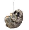 B - Plastic Sloth Ornament 4in.