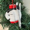 Resin Ski Jacket Ornament 4.75in.