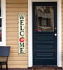 Outdoor Welcome Sign for Porch - Apple - Vertical Porch Board 8x47