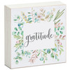 Gratitude - Mini Square Block Sign