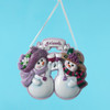 Two Snow Friends Personalized Ornament 4 Inch