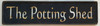 Wood Sign - The Potting Shed 20x6