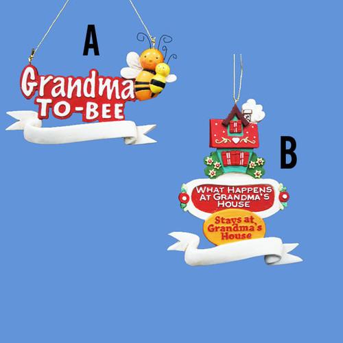 Grandma Personalized Ornaments