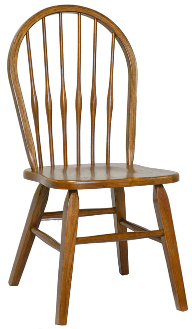 Side Chair Bow Back, Square Tapered Leg