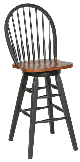 Urban Country 30in. Barstool - Two-Tone