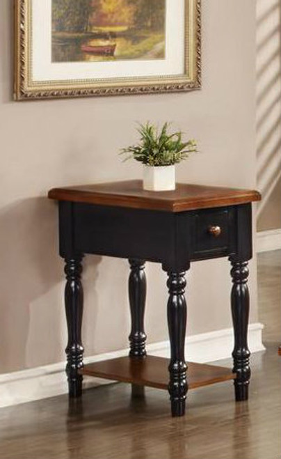 Danielson Solid Wood Narrow End Table