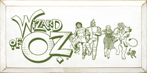 Wood Sign - Wizard Of Oz