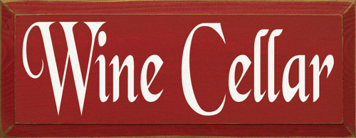 Wood Sign - Wine Cellar