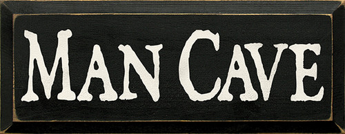 Wood Sign - Man Cave 7x18