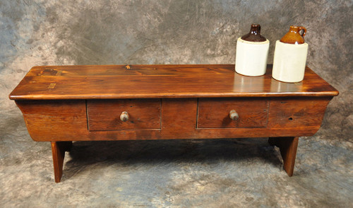 Two Drawer Cobbler Bench