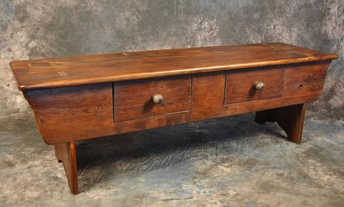 Two Drawer Cobbler Bench