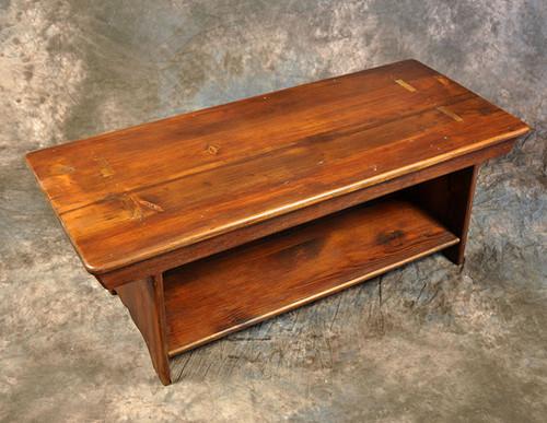 Rustic Reclaimed Wood 3' Bench 3L x 14D x 18H