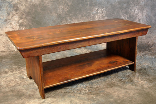 Rustic Reclaimed Wood 3' Bench 3L x 14D x 18H