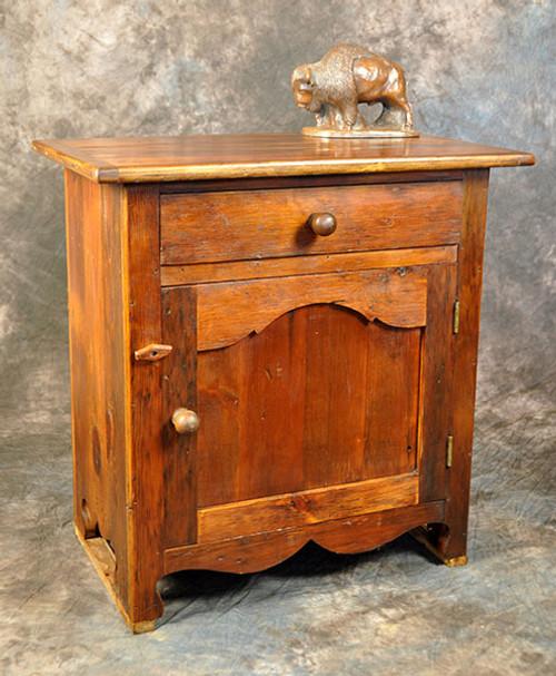 Rustic Reclaimed Wood Petite Buffet Table 29L x 18D x 29H