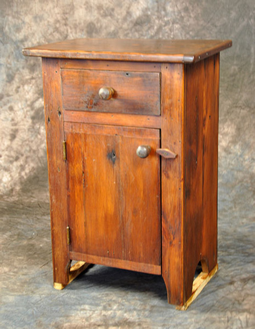 Rustic Reclaimed Wood Small Washstand Table 17L x 13D x 28H