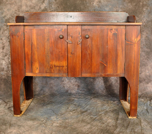 Rustic Reclaimed Wood High Leg Huntboard 51L x 21D x 41H