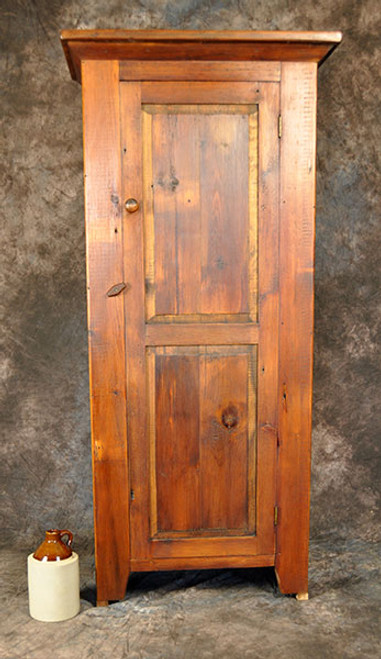 Rustic Reclaimed Wood Chimney Cupboard 5H x 28L x 14D