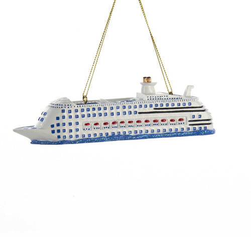 Cruise Ship Personalized Ornament