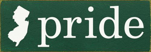 Custom State Pride  Wood Sign