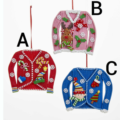 sweater ornament  sweaters  ugly christmas sweater ugly christmas sweater ornament