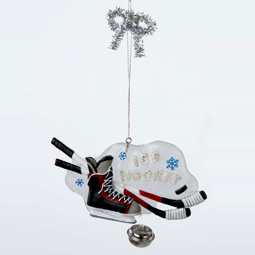 Ice Hockey Ornament Personalized Ornament For Boys or Girls Hockey