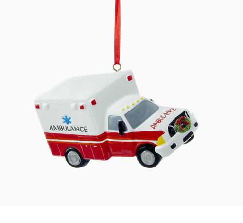 Ambulance Personalized Ornament