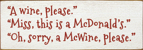 mother's day gift mom's birthday gift ideas for mom kitchen decoration funny signs funny sayings clever signs clever sayings fast food jokes  hot mess mom  gift for mom who loves wine  mom loves wine  wine lover