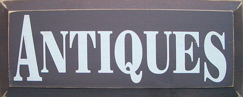 antiques sign  antiques  sign for collector  gift for antiques collector