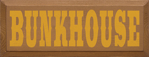 bunkhouse sign  kid's room sign gift for vacation home  gift for large family