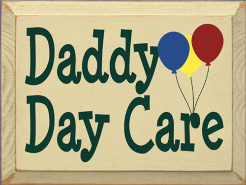 CUSTOM Daddy Day Care Multi Color