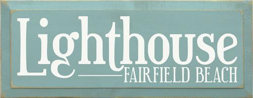 CUSTOM Lighthouse Fairfield Beach