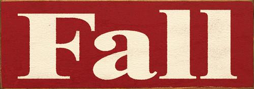 Wood Sign - Fall