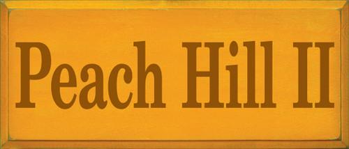 CUSTOM Peach Hill II 12x28