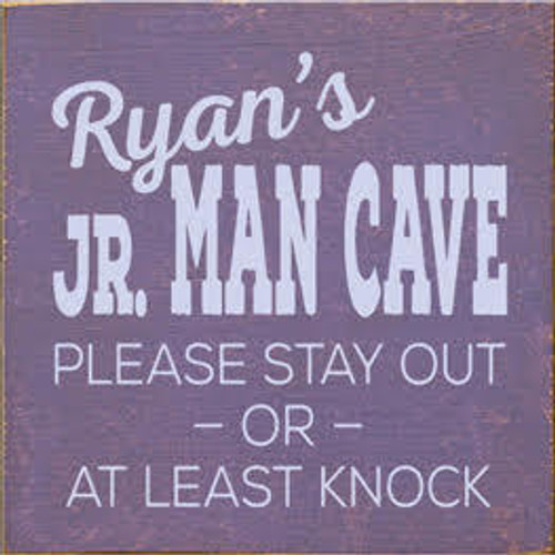 CUSTOM Ryan's Jr. Man Cave 7x7