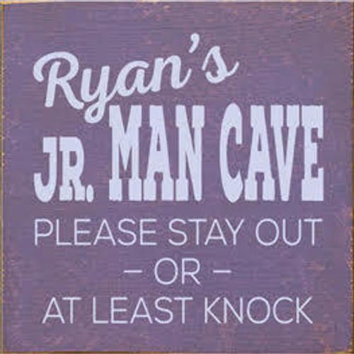 CUSTOM Ryan's Jr. Man Cave 7x7