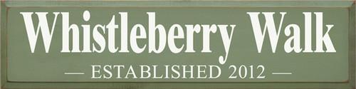 CUSTOM Whistleberry Walk 9x36